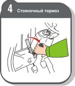 Стояночный тормоз автопогрузчика